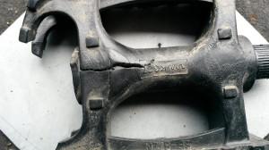 gebrochenes Pedal 2